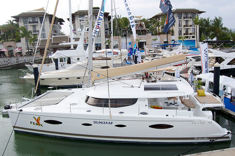 Fountaine Pajot Salina 48 Review Fountaine Pajot Salina 48