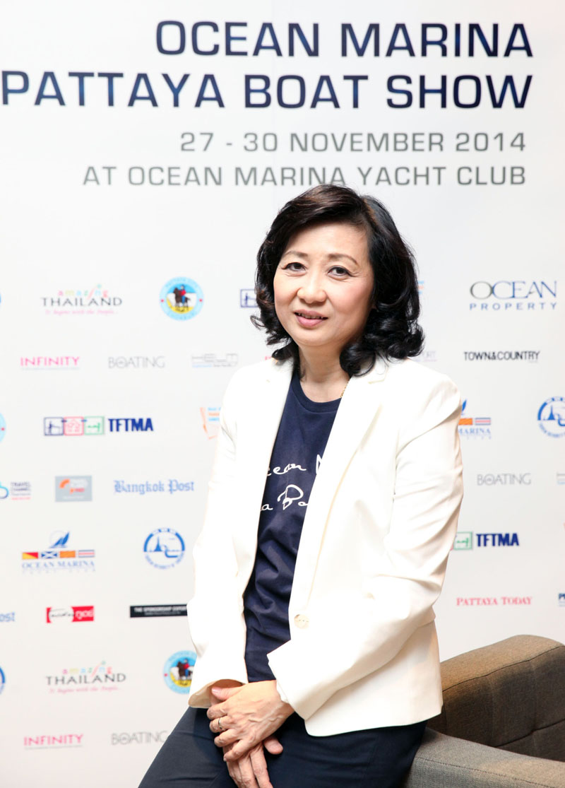 Mrs. Supatra Angkawinijwong,Deputy Managing Director, Ocean Property.