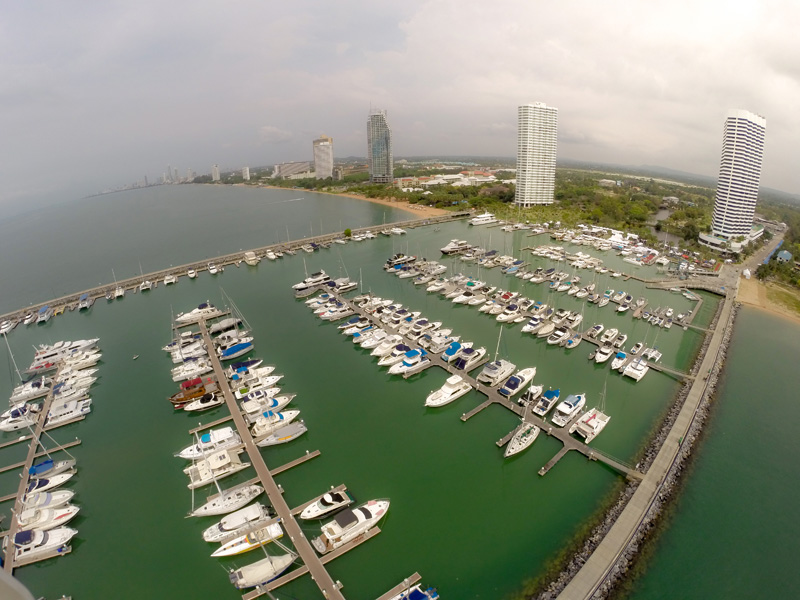 Ocean Marina, the largest marina in South East Asia, home of the Ocean Marina Pattaya Boat Show.