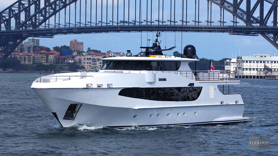 Sahana - 2018 Australian Superyacht Rendezvous.