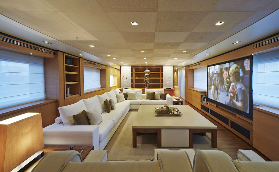 "Owners cabin of the Sanlorenzo 46Steel-""Achilles F"""