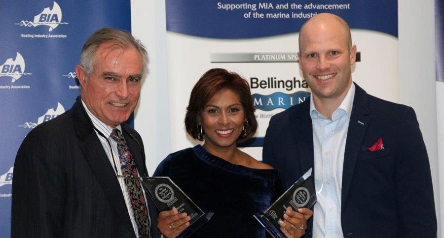 Fiji's Port Denarau Marina picked up two awards at the Marina Industries Association Club Marine Marina Awards