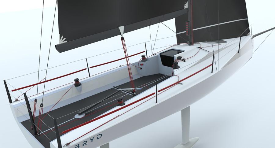 Ben Rogerson Yacht Design announce new carbon BR31