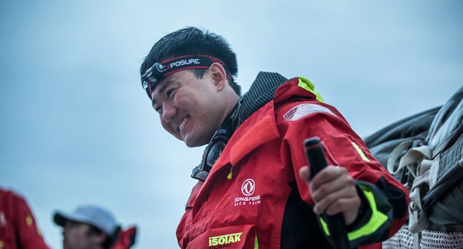 Dongfeng Race Team using the Exposure Raw PRO headtorch