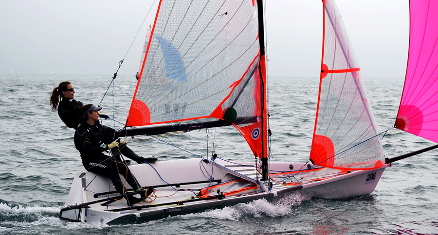 29er action from the Hong Kong Race Week