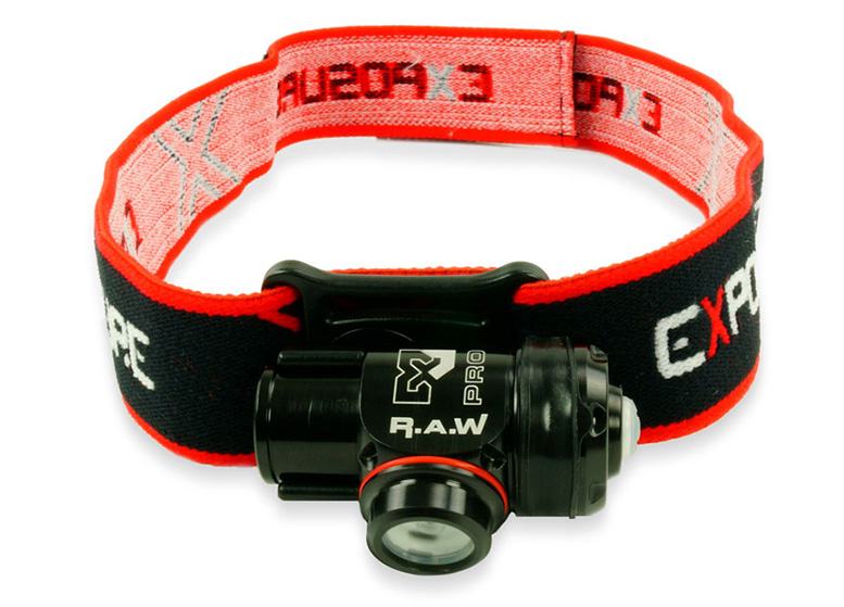 The Exposure Raw PRO headtorch