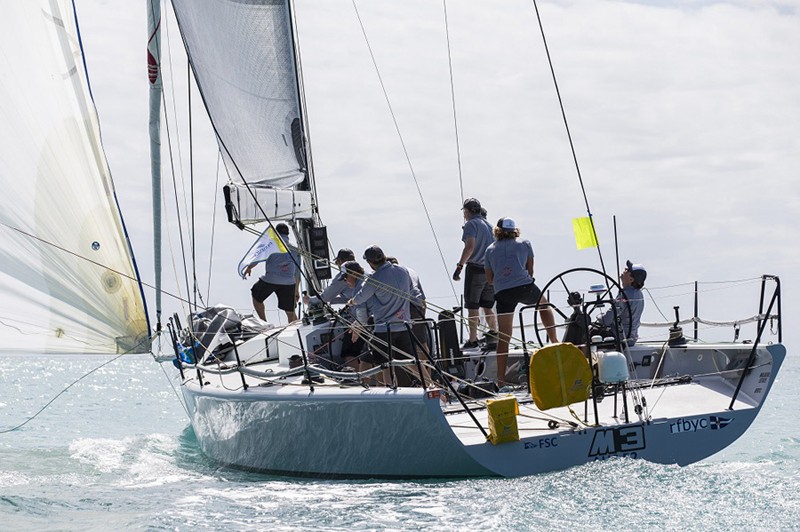M3 from WA. Day 1, Airlie Beach Race Week 2017
