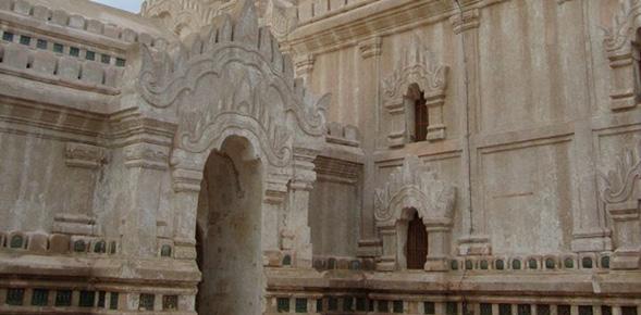 The Ananda temple in Bagan, Myanmar