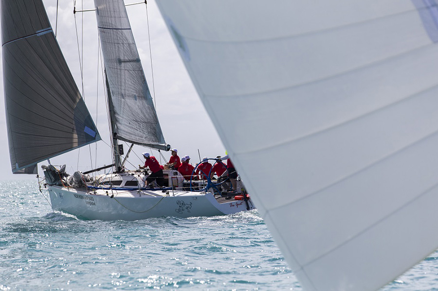 The Goat cleaned up in IRC Passage. Day 1, Airlie Beach Race Week 2017