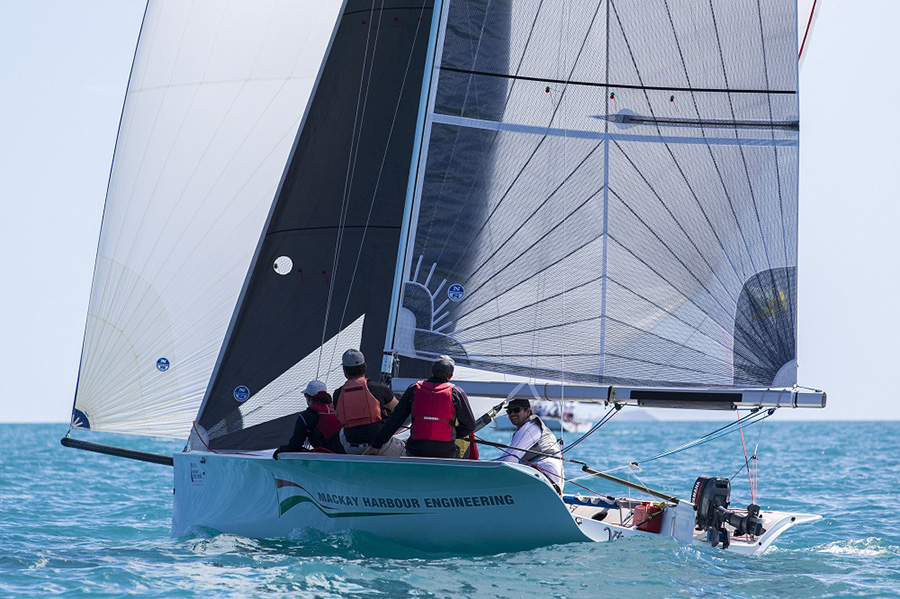 Vivace Qld cleaned up on Day 1, Airlie Beach Race Week 2017