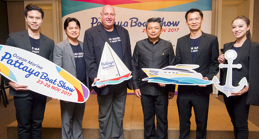 Ocean Marina Pattaya Boat Show - 2017 Launch