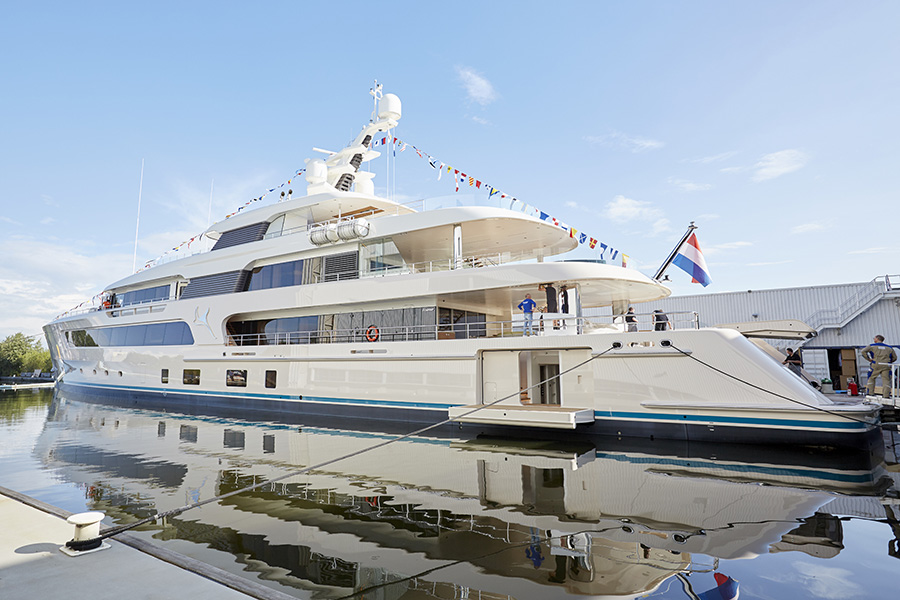 The all new 69-metre Feadship, Samaya.