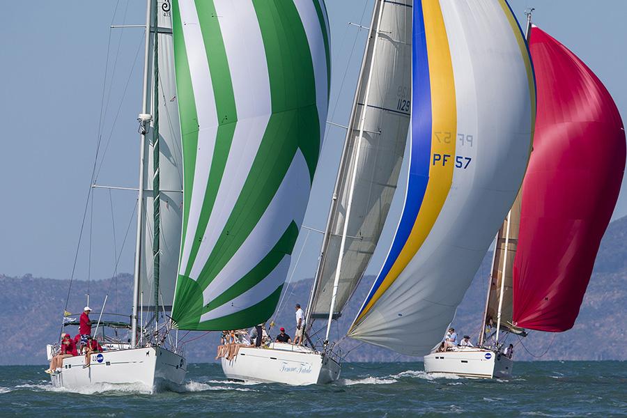 Close sailing - SeaLink Magnetic Island Race Week 2017