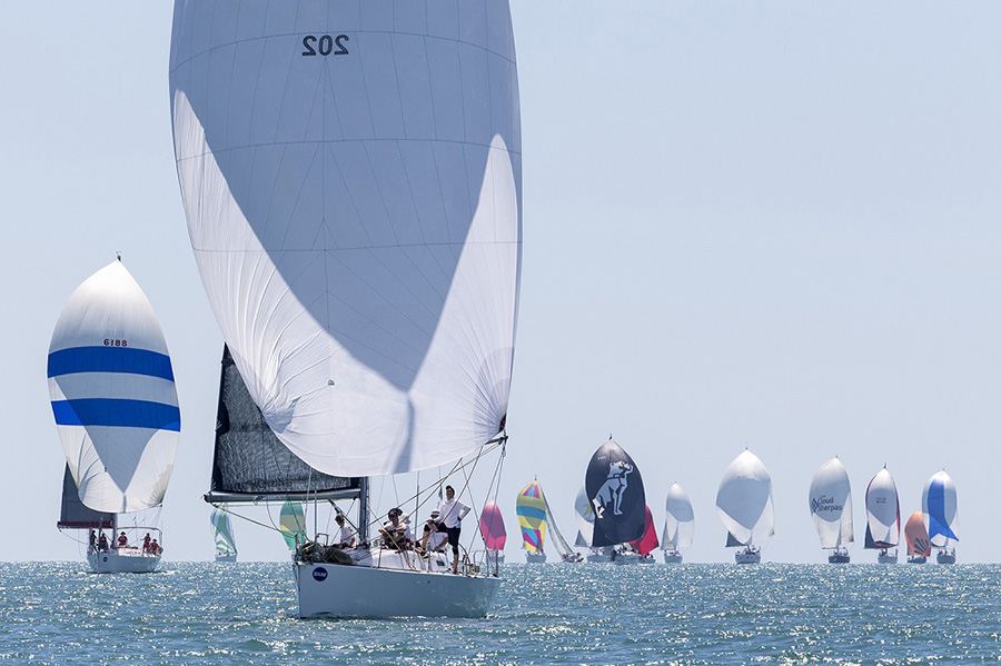 Reignition leads the charge - SeaLink Magnetic Island Race Week 2017