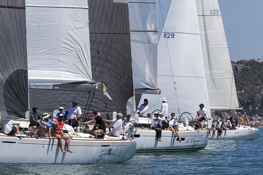 Sitting to leeward - SeaLink Magnetic Island Race Week 2017