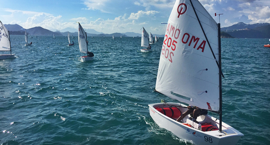 2017 Optimist Asian & Oceanian Championships, organised by Royal Hong Kong Yacht Club