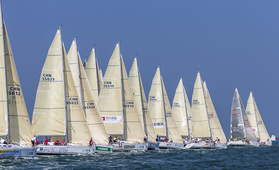 11th China Cup International Regatta set to take place 26 to 29 October, 2017