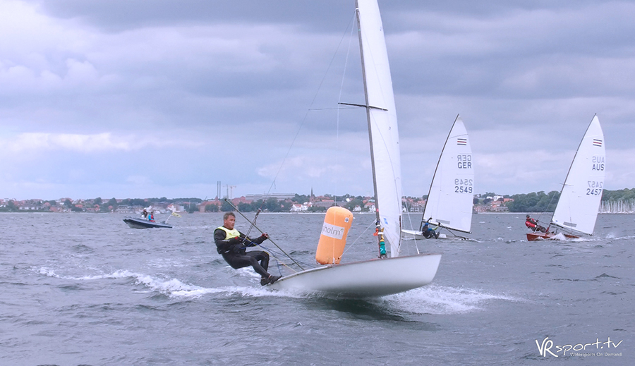 Jason Beebe on the way to winning the 2017 Contender Worlds