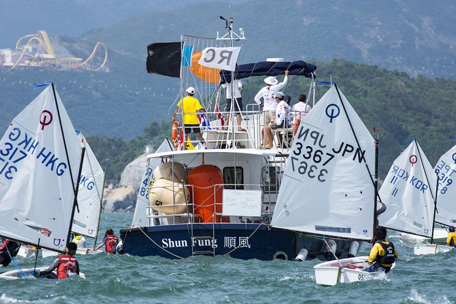 2017 Optimist Asian & Oceanian Championships in Hong Kong, Day 4