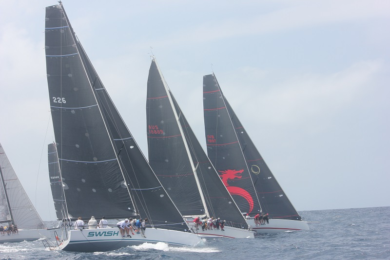 Premier IRC Division 1 boats rocket off the start last year. Sydney Short Ocean Racing Championship