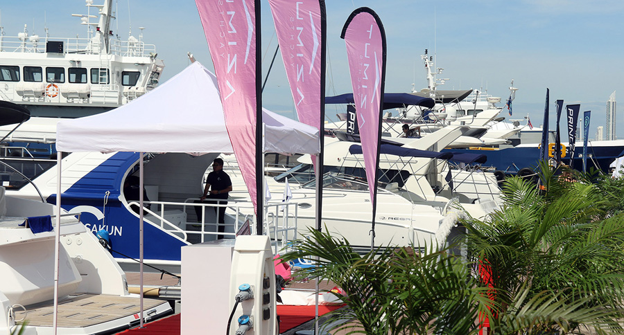 2017 Ocean Marina Pattaya Boat Show.