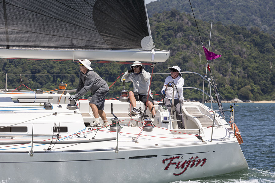 Fujin - Race 2 of the 2017 Raja Muda Selangkor International Regatta, Pangkor to Penang
