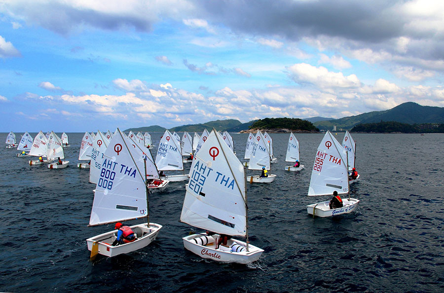 Optimist return for the 2017 Phuket King's Cup Regatta