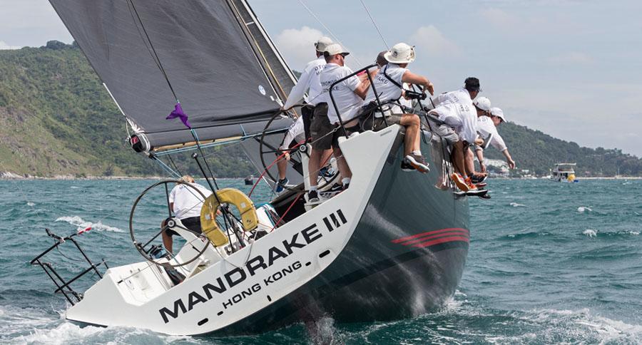 Otonomos Mandrake. Day 3, Phuket King's Cup Regatta 2017