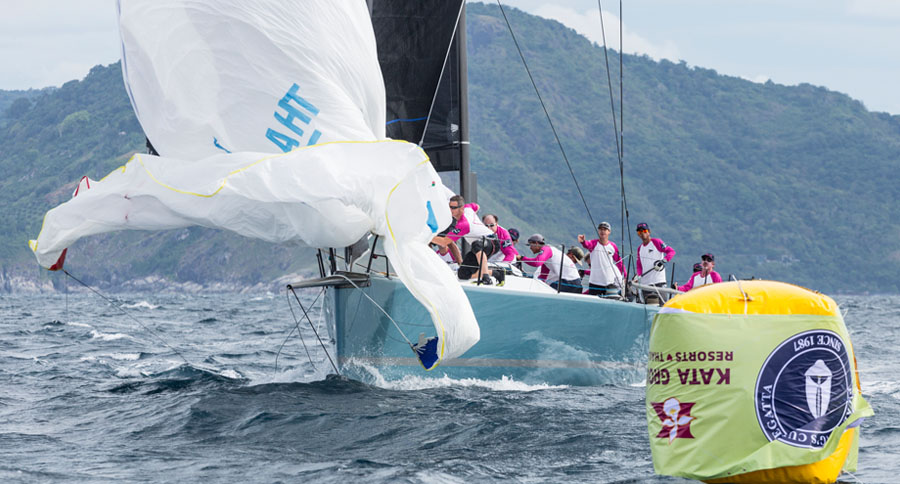 Phuket King's Cup Regatta - Team THA72, Kevin & Tom Whitcraft