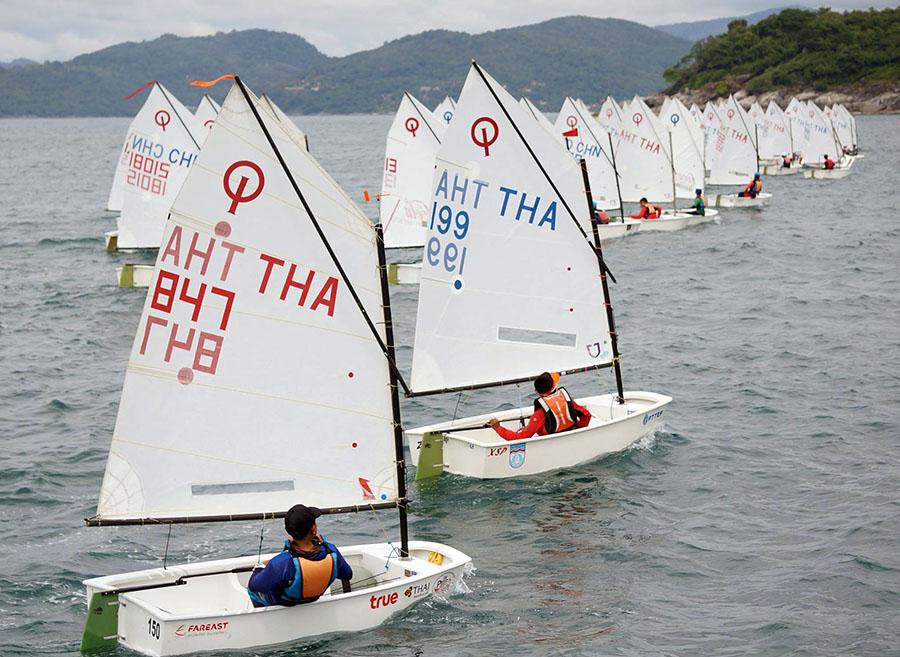 Phuket King's Cup Regatta 2017. Day 2 dinghy racing