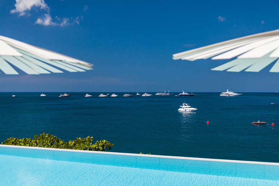 An impressive fleet of Superyachts attended the second Kata Rocks Superyacht Rendezvous.