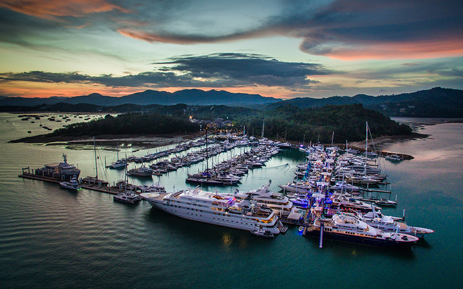 Ao Po Grand Marina - venue for the 2018 Thailand Yacht Show