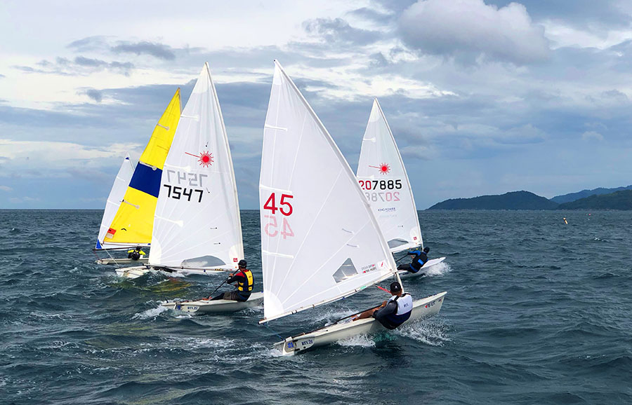 Dinghy racing. Day One, Phuket King's Cup Regatta 2017