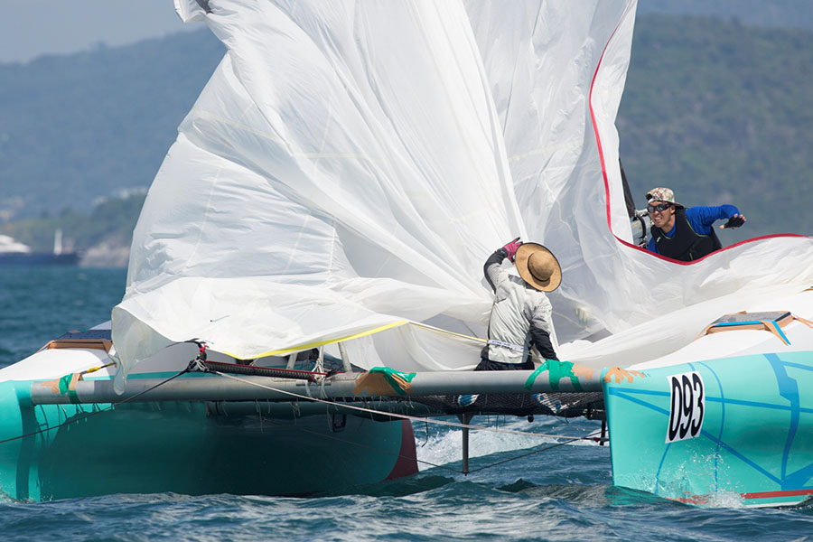 Mil Grace. Day 4, Phuket King's Cup Regatta 2017