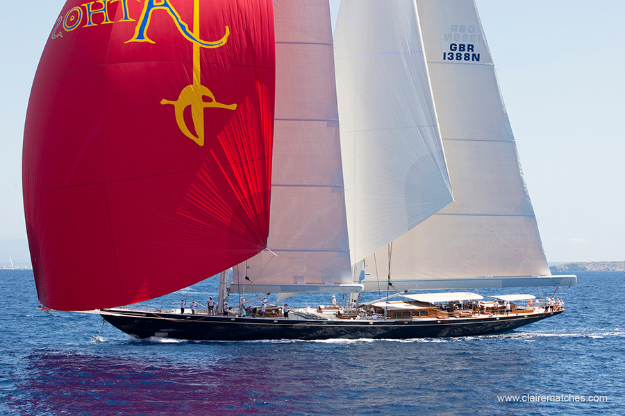 The mighty Athos during the 2011 edition of the SYC