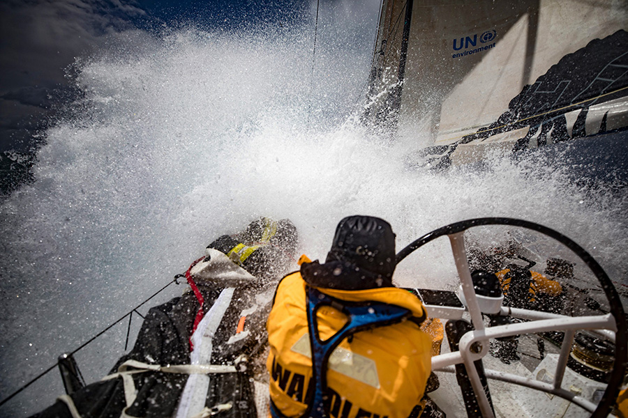 Turn the Tide on Plastic racing through the Southern Ocean