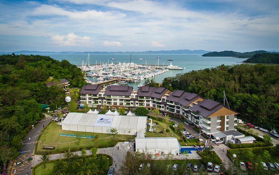 Ao Po Grand Marina, Phuket - home of the Thailand Yacht Show.