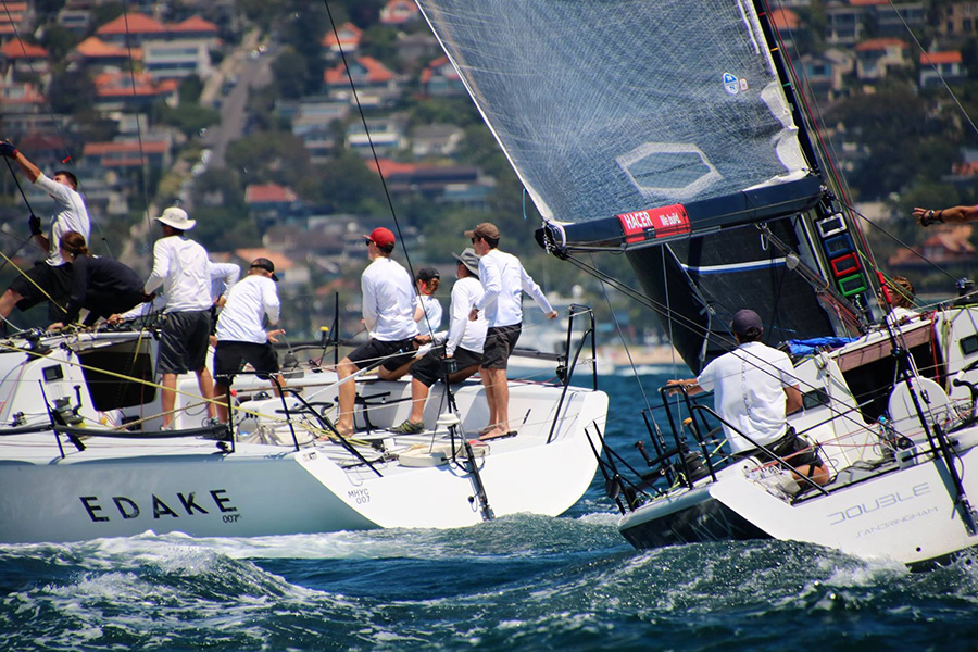 Farr 40 Middle Harbour Yacht Club One Design Trophy 2018.