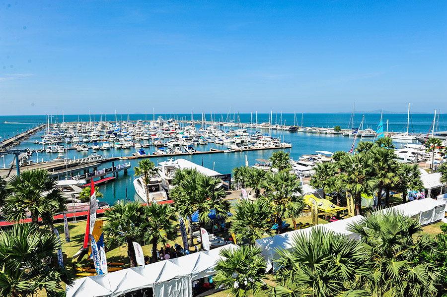 Ocean Marina Pattaya Boat Show, organised by Ocean Marina Yacht Club.