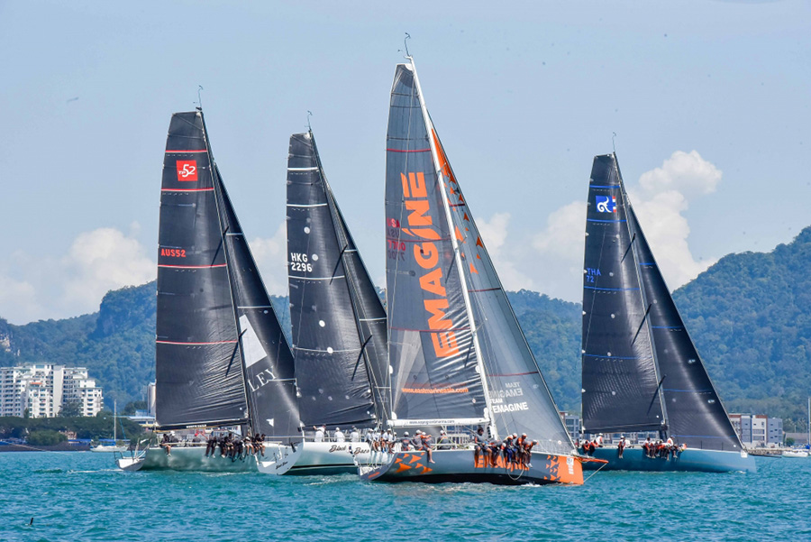 The 16th Royal Langkawi International Regatta takes place 8 to 13 January 2018.