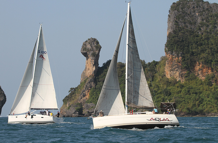 The Bay Regatta 2018 - Racing around and amongst the islands of Phuket, Phang Nga and Krabi.