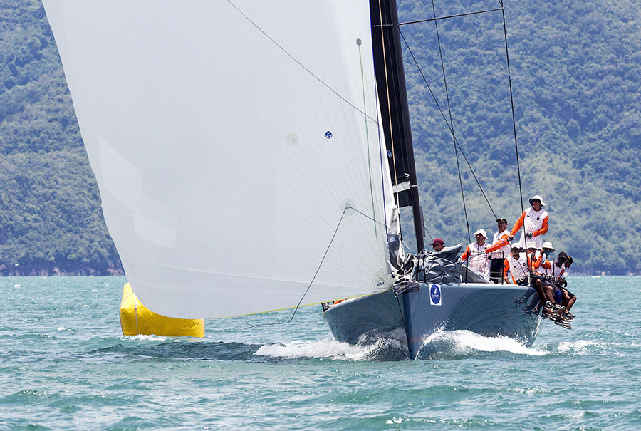 Good wind and warm weather make for idyllic sailing conditions at Top of the Gulf Regatta