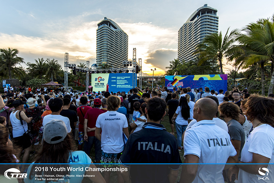 Young kiteboarder from around the world are in China to compete in the TwinTip: Racing (TT:R) Slalom Youth World Championship as well as secure the final slots for the upcoming Youth Olympic Games in Argentina.
