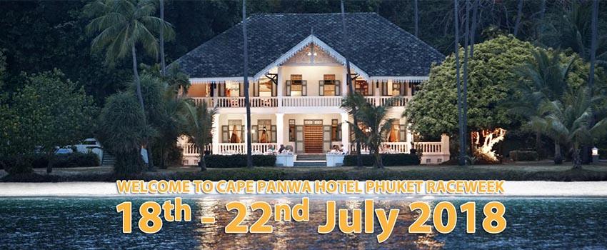 Cape Panwa Hotel - home of the Cape Panwa Hotel Phuket Raceweek