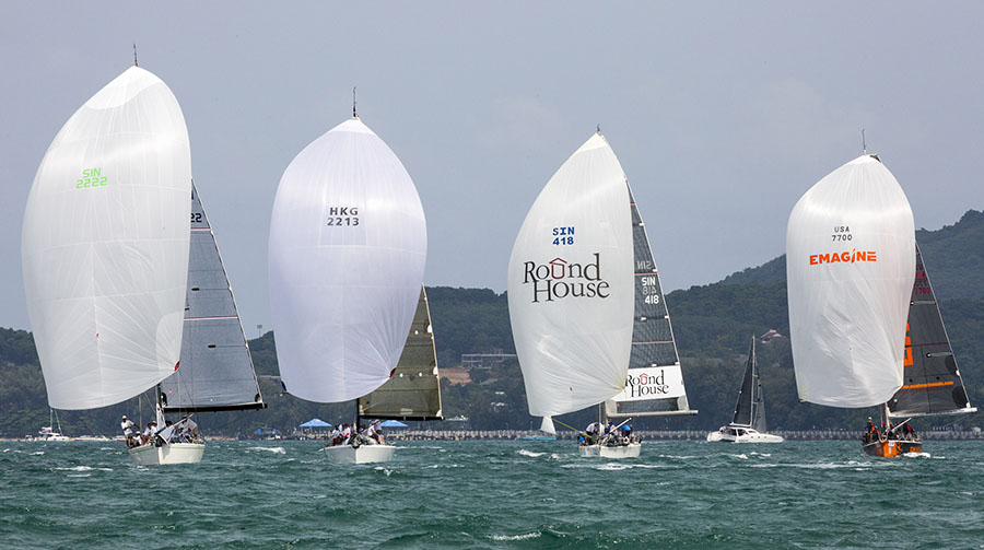 Organisers are looking to grow international participation in the regatta over coming years.