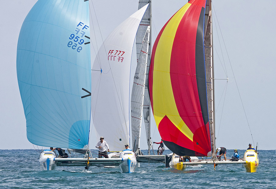 The regatta is popular with sailors around the world for its professional on-the-water race management and onshore experience that is second-to-none