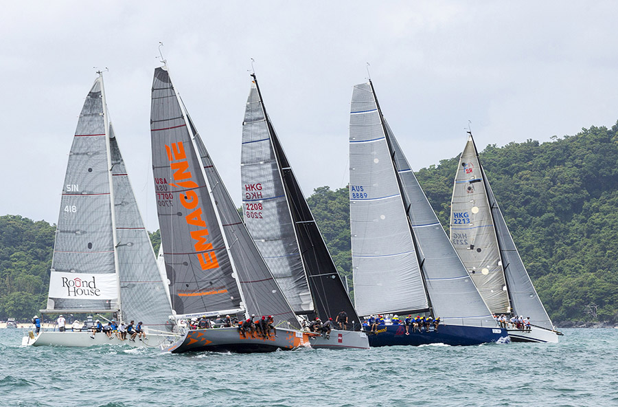 30+ boats will compete in the 2019 Cape Panwa Hotel Phuket Raceweek