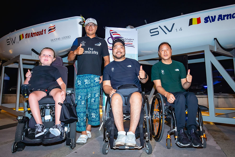 Para Sailors in Phuket